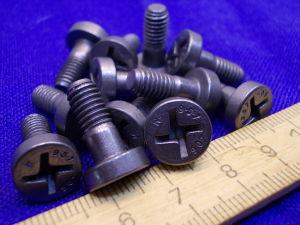 Vite Titanio LN29943 testa cilindrica croce M6x15 (12 pezzi)