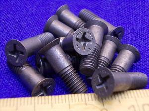 Vite Titanio LN29943 testa svasata croce M6x18 (12 pezzi)