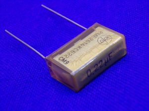 0,22MF 400Vdc capacitor RIFA metallized paper