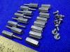 Torretta esagonale Inox distanziatore M2,5x10 + M2,5x12 (n.16 pezzi)