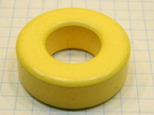 Nucleo toroidale  in ferrite mm. 33x11x16  MICROMETALS  T131-8/90