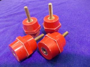 Distanziali isolati in resina mm. 30x30 (n.4 pezzi)