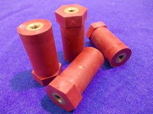 Distanziali isolati in resina mm. 45x21 (n.4 pezzi)