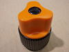 Orange Knob 32x39 hole mm. 6,3