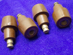 Insulated contacts mm. 32x16 (4pcs.)
