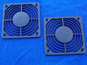 Coppia griglia di protezione in plastica per ventole mm. 80x80