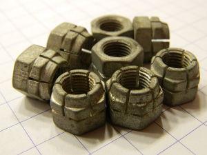 """Dado 3/8""""UNF acciaio cadmiato autobloccante (8 pezzi)"""