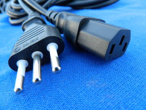 Power cord, mt. 2 Italian plug to IEC C13