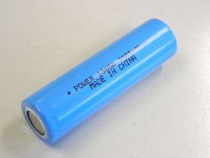 Batteria ricaricabile al Litio tipo 18650 3,7V 2.000mAh  VERI!