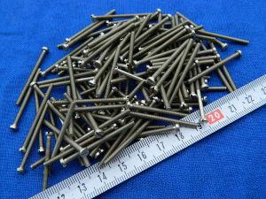 Vite M2,5x35 testa cilindrica acciaio nickelato (100 pezzi)