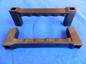 Coppia manici rack alluminio anodizzato 12,5x4