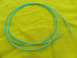 Guaina teflon TFE colore azzurro diam. mm. 0,8-1,4