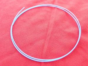 Guaina teflon TFE colore nero diam. est. mm. 2
