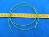 Tubetto guaina al silicone blu mm. 0,6