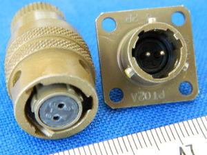 Connector 2 poles (PT6-8-2S),(PT-02A)