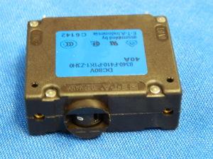 E.T.A. 8340-F410-P1K1-Z3H0 automatic circuit breaker 40Amp. 80Vdc