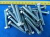 Vite M8x50 testa esagonale acciaio zincato (24 pezzi)