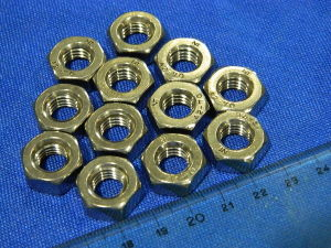Inox nut M10 (8 pcs.)