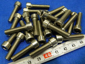 Inox socket cap head screw M6x25 (25 pcs.)