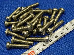 Vite Inox M6x25 testa cilindrica  (25 pezzi)