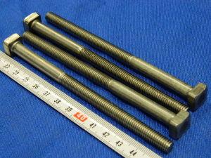 Vite Inox M8x130 testa quadra  (4 pezzi)