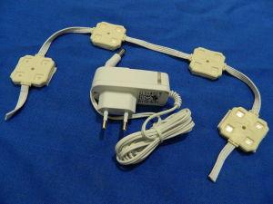 N.4 moduli LED RGB 12Vcc + Alimentatore