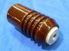 Isolatore in porcellana cm. 13x6