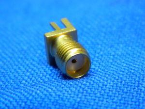 Connettore coassiale SMA femmina circuito stampato