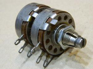 Dual potentiometer ALLEN-BRADLEY 1K+1K type J