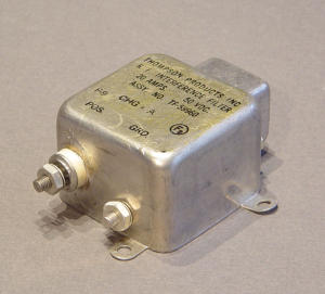 RF interference filter 20A 50Vcc