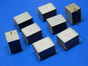 1uF 400Vcc EPCOS polyester silver capacitor (8 pezzi)