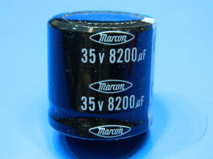 8200uF 35V condensatore elettrolitico MARCON