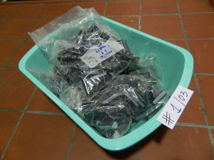 Lot capacitors 47MF 400V DAEWOO (250pcs.)