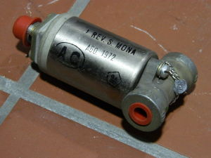 Solenoid valve 28Vdc