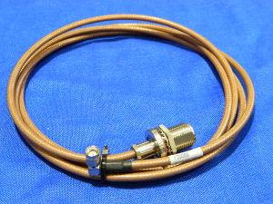 Coaxial cable RG142  N-female/SMA-plug 90° (mt. 2)