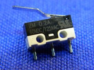 Mini deviatore fine corsa a levetta, Microswitch 12,7x6,2x5,5
