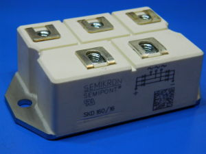 SKD 160/16 Semikron 3 phase rectifier bridge