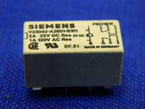 Relè 5Vcc 2scambi Siemens V23042-A2601-B101