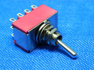 Toggle switch C&K 4way on-on