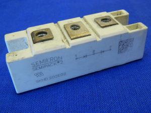 SKND202E02 Semikron ultra fast rectifier module, coppia diodi veloci