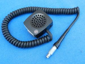 Microfono/altoparlante PYE con cordone a molla