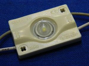 Modulo stagno 1,44W 12V led unico 3030 freddo con lente ST-MS8-1