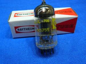 CK5755, ECC83, 12AX7  RAYTHEON