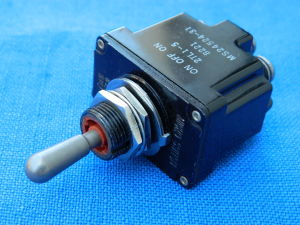 Toggle switch Micro Switch MS 24524-31  ON-OFF-ON(back return)  2poles