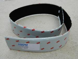 "Velcro black 2"" (mm.50) Hook adesive 3M"
