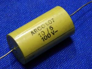 10uF 100Vcc Condensatore Arcotronics non polarizzato per crossover