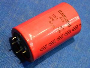 1500uF 400Vcc condensatore elettrolitico ITELCOND  AC5