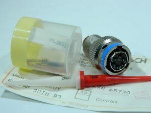 Connector plug female  ITT-CANNON MS 3476L10-6S