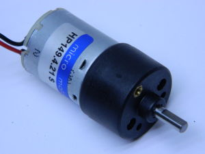 Gear motor 12Vdc 350rpm Micro Motors HP 149.4.21S