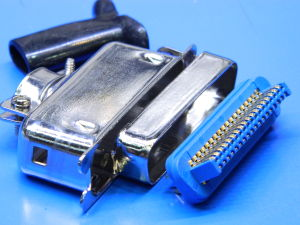 Connettore Centronics 36 pin male with metallic shell